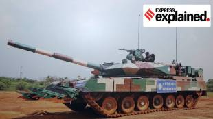 "Indian Army Arjun Mark Tank, India Battle Tank, India battle tank features, Indian Express"" />"