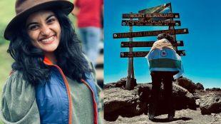 nivetha thomas,നിവേദ തോമസ്, nivetha latest photo, Kilimanjaro, നിവേദ കിളിമഞ്ചാരോ, actress nivetha, ie malayalam