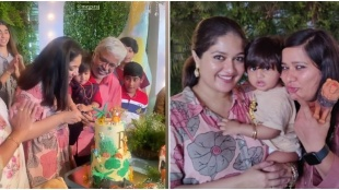 meghana raj, meghana raj son, Raayan Raj Sarja s first birthday, meghana raj baby photo, chiranjeevi sarja, ചിരഞ്ജീവി സർജ, chiranjeevi, arjun sarja, chiru sarja, മേഘ്ന രാജ്