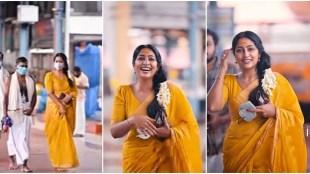 Navya Nair, നവ്യ നായർ, Actor Navya, Navya Nair birthday, Navya Nair at Guruvayoor, നടി നവ്യ നായർ, Navya Nair saree, നവ്യ നായർ സാരി