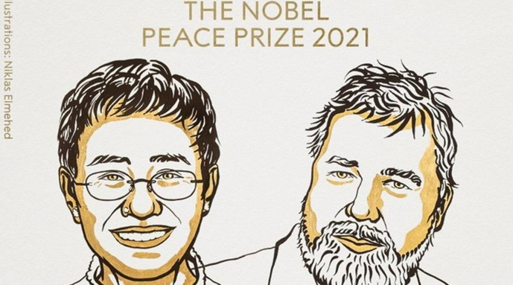 Nobel peace prize, nobel prize 2021, nobel peace prize 2021, Philippines journalist Maria Ressa and Russian journalist Dmitry Muratov, world news, indian express malayalam, ie malayalam