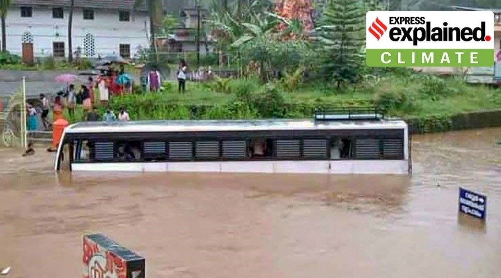 Kerala rains, Kerala floods, Kerala weather, Kerala monsoon, southwest monsoon, Arabian Sea, Express Explained, Explained Climate, kerala rain news, idukki rain news, kottayam rain news, latest news, kerala news, malayalam news, indian express malayalam, ie malayalam