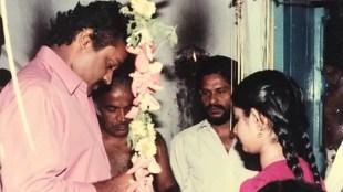 Divya Unni, Divya Unni childhood photo, Divya Unni with Suresh Gopi