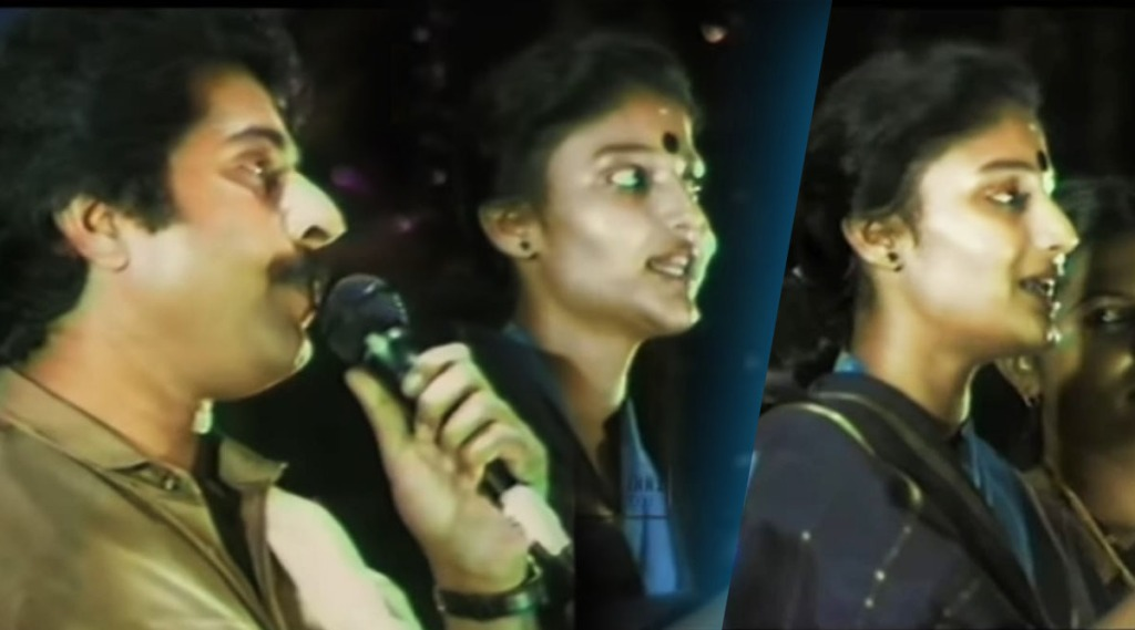 Karthika, Mammootty, Karthika singing video, karthika throwback video, Karthika Mammootty throwback video, Karthika photos, കാർത്തിക, Mammootty latest photos, Mammootty new films, മമ്മൂട്ടി, Mammootty latest video