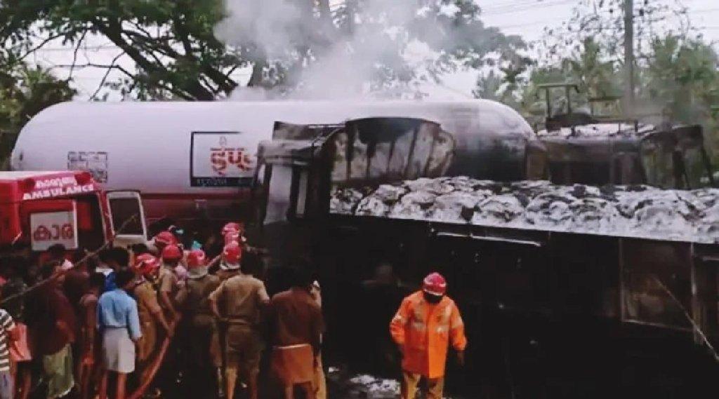 Malappuram, Tanur, Tanker Accident, Petrol Tanker Accident, താനൂർ, ടാങ്കർ, ടാങ്കർ ലോറി, ടാങ്കർ അപകടം, Malayalam News, Kerala News, IE Malayalam