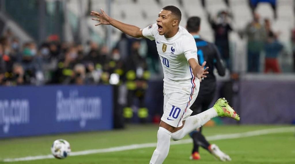 UEFA Nations League, Kylian Mbappé